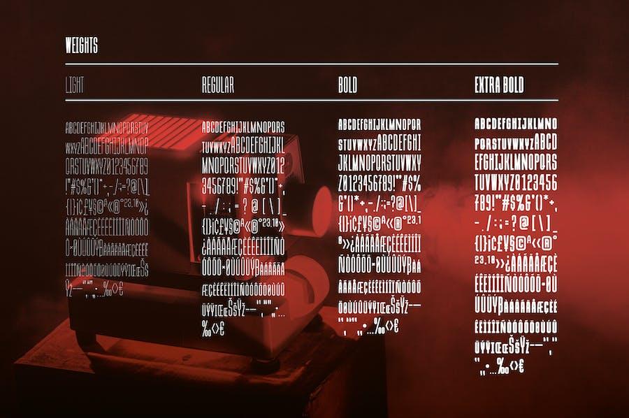 Due Credit: The Film Designer's Font - 2