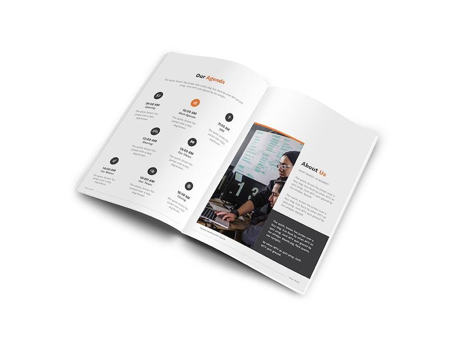 Pitch Deck A4 Brochure - 3
