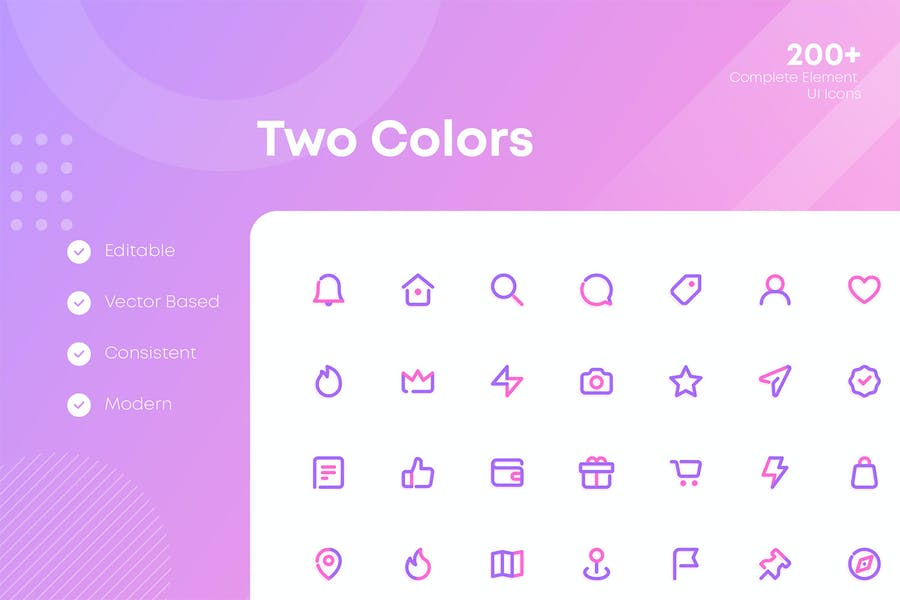 Complete Web and Mobile UI Icons Pack - 1