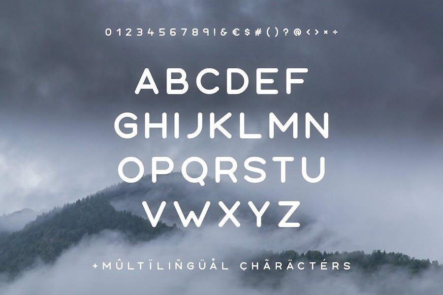 Aoki Typeface - 0