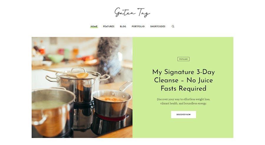 GutenTag - 100% Gutenberg Blog WordPress Theme - 1