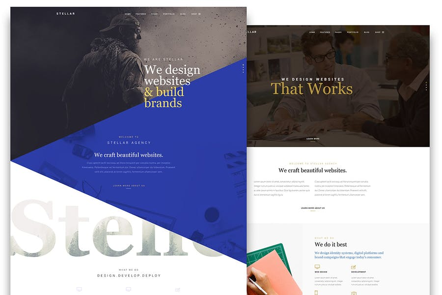 Stellar - One page multipurpose html template - 0
