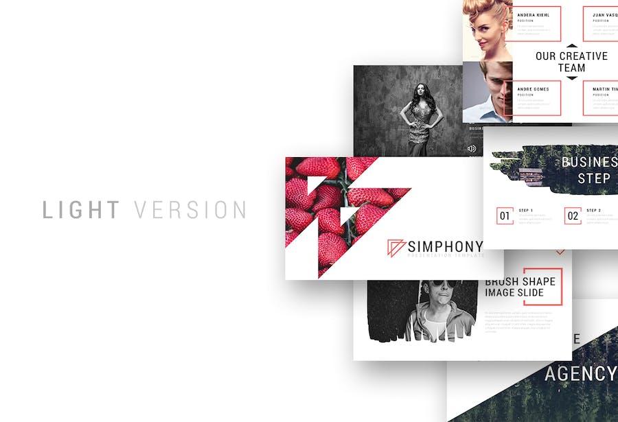 Simphony Presentation Template - 0