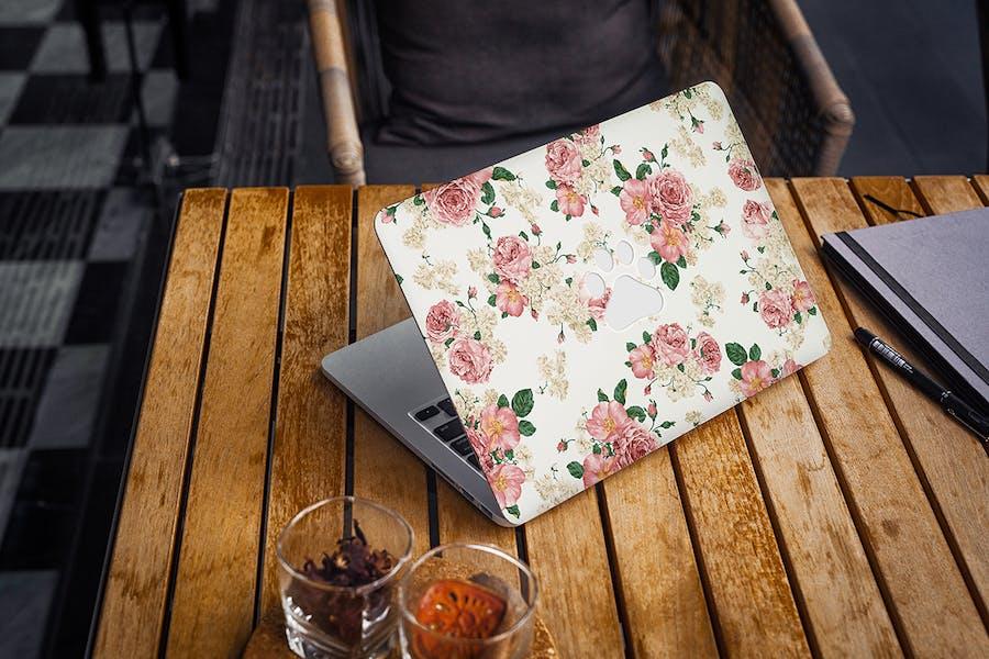 MacBook Skin Mock-Up - 1