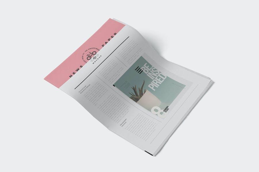 Professional Newspaper Ad PSD Mockups - 2
