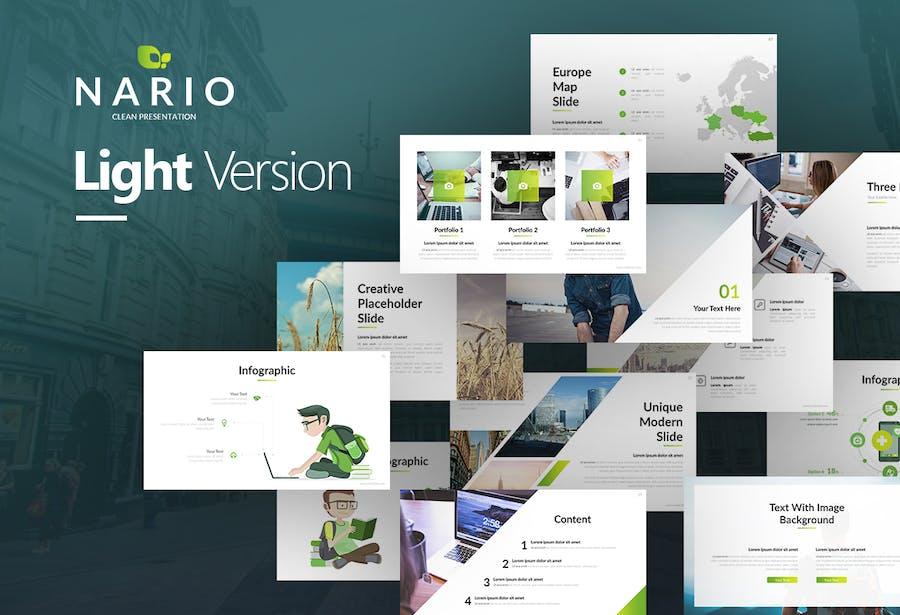 Nario Clean Presentation - 0