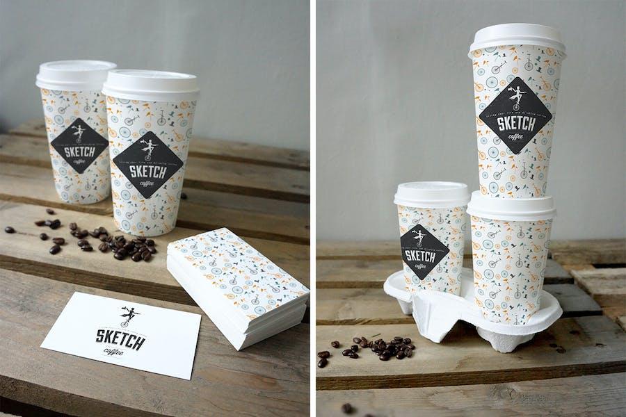 Coffee Cup Mockup - 2