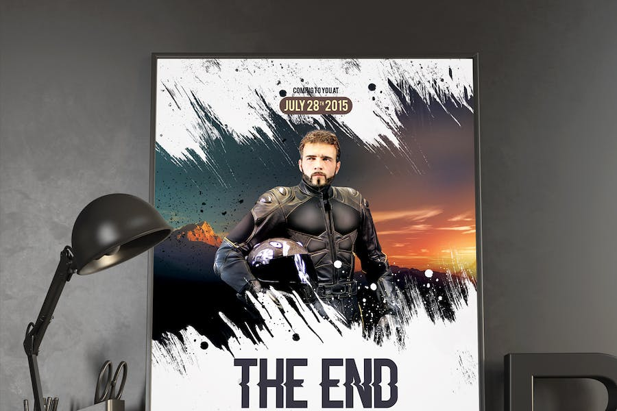 The End Movie Poster/Flyer - 0