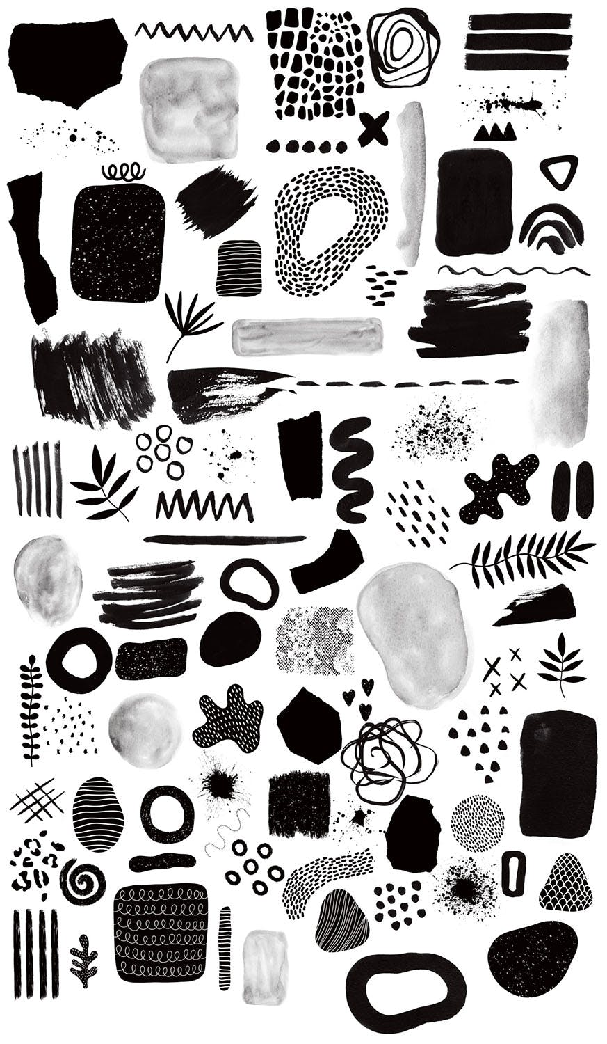 Procreate: Abstract Stamp Brushes - 2