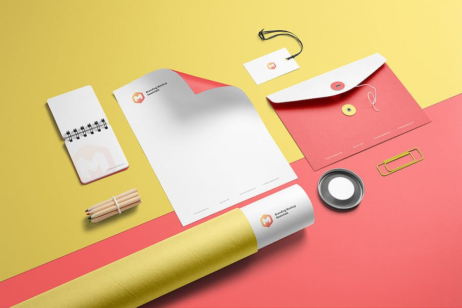 Branding Mockup Essentials Vol. 3 - 0