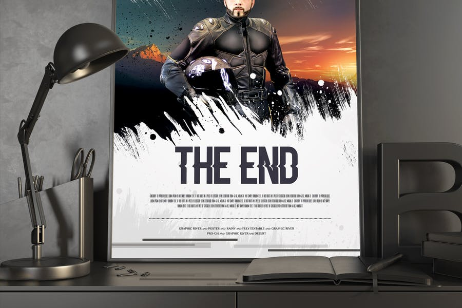 The End Movie Poster/Flyer - 1