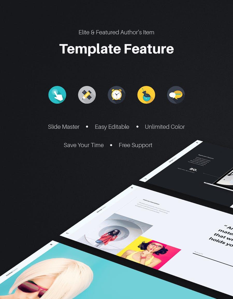 KLOE Minimal & Creative Template (Keynote) - 0
