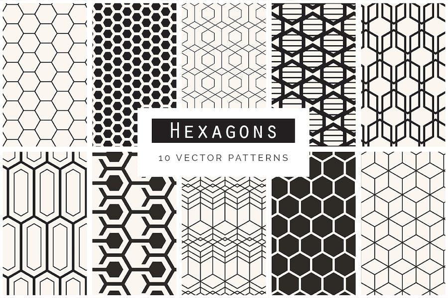 Geometric Seamless Patterns Bundle - 3