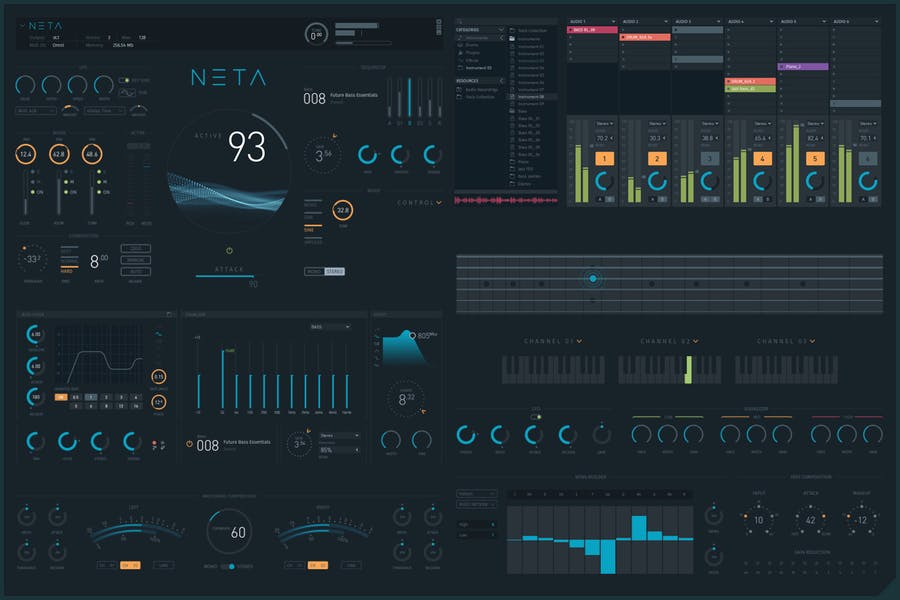 NETA: Modern Virtual Instruments GUI - 0