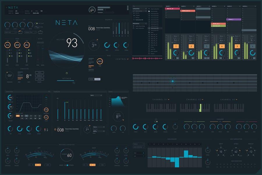 NETA: Modern Virtual Instruments GUI - 0