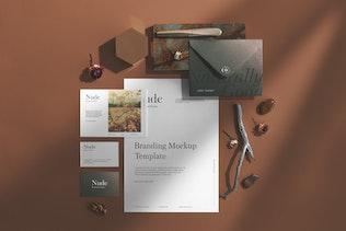 Nude Branding Mockup - 2