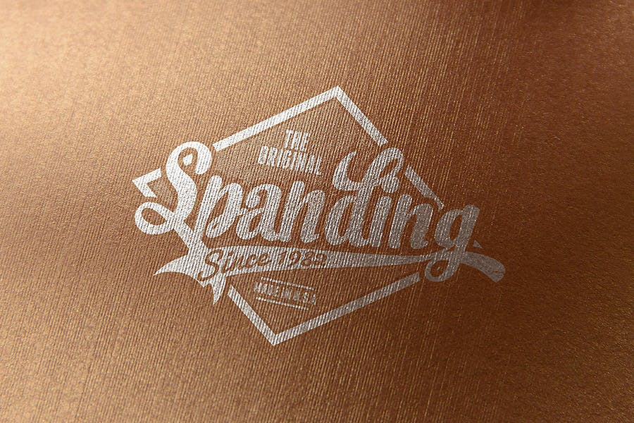 Logo Mock-Up / Exclusive Paper Edition 1 - 3