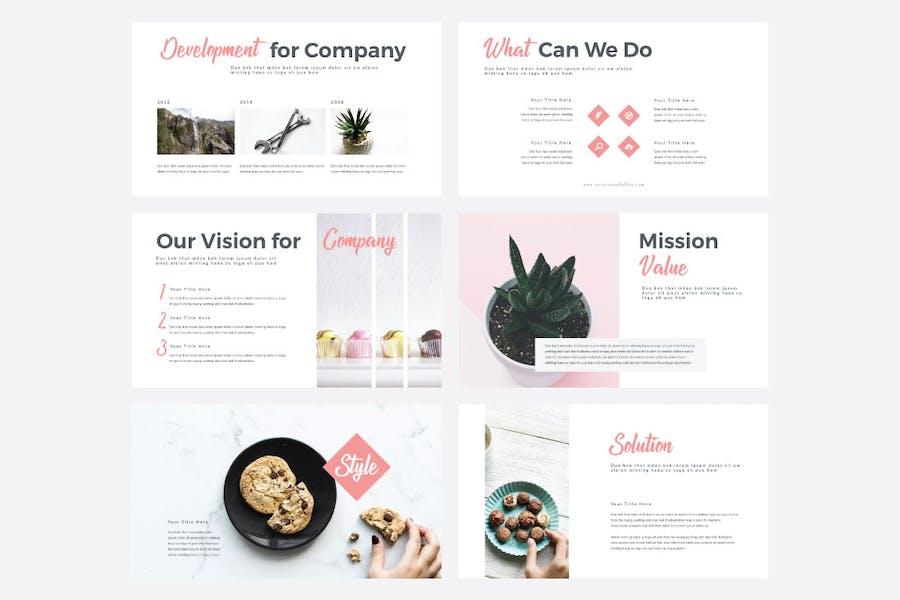 STYLE - Multipurpose PowerPoint Template V50 - 1