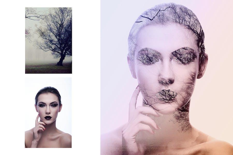 Double Exposure Photoshop Action - 3