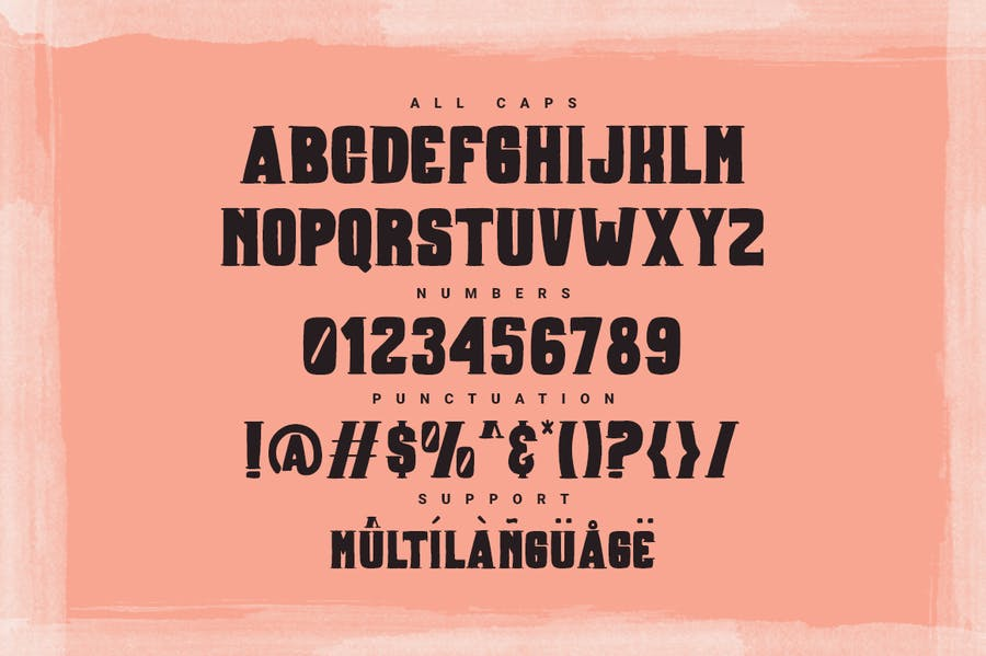 Boxer Typeface - 2
