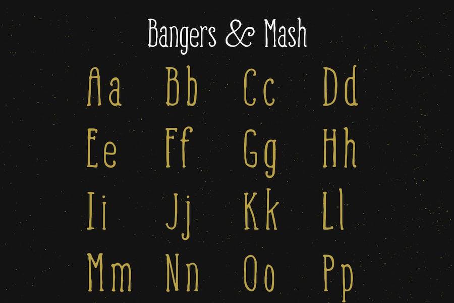 Bangers and Mash Font - 3