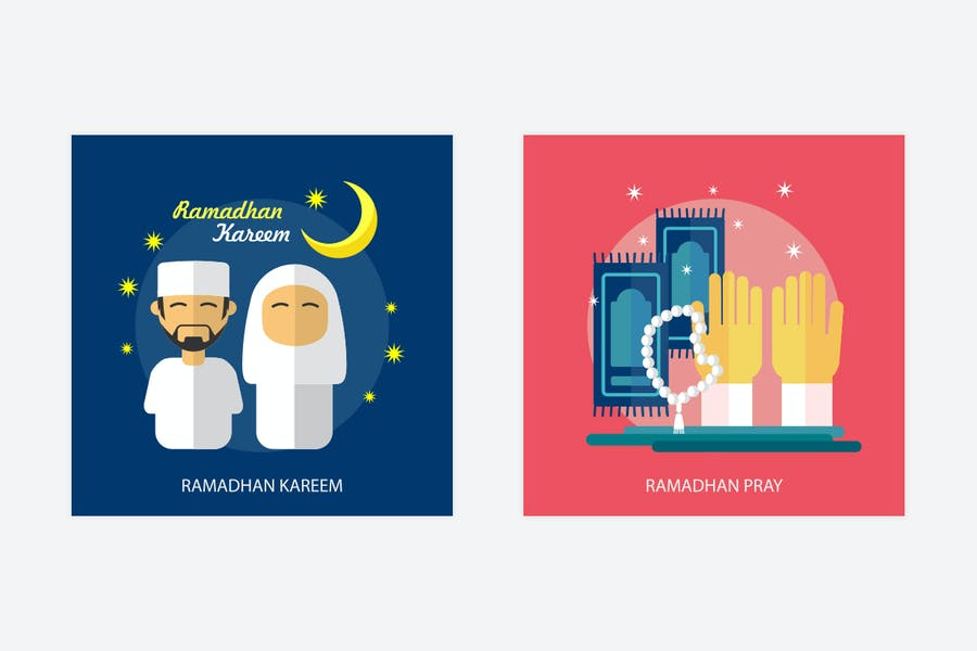 Ramadan Mubarak Vector Illustration - 1