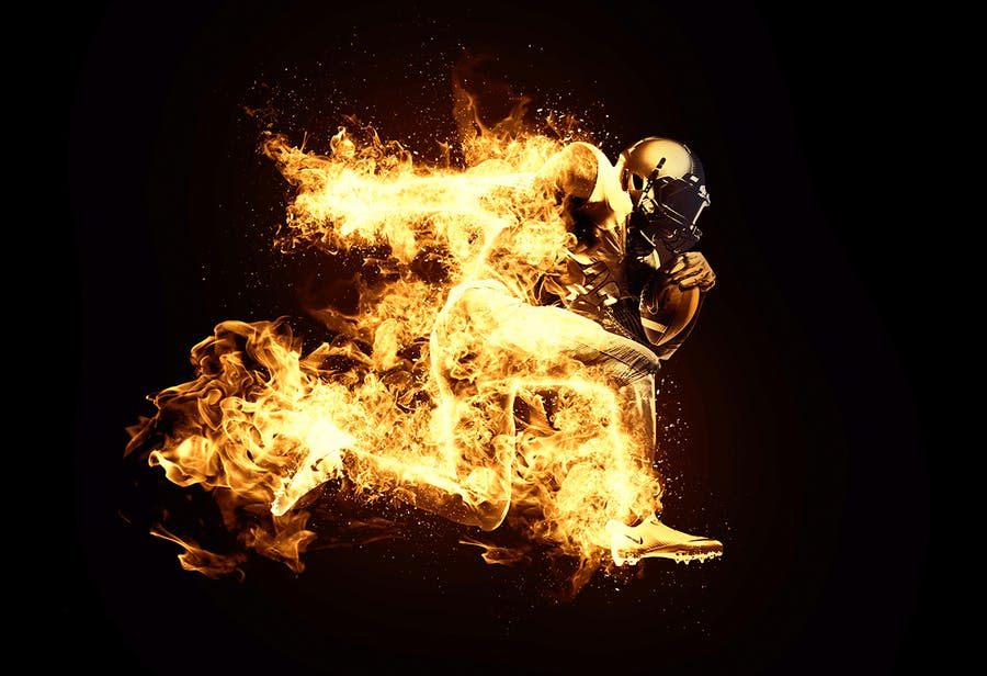 Fire Animation Photoshop Action version 2 - 2