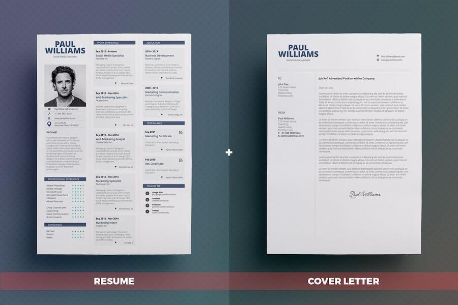 Simple Resume/Cv Volume 1 - 1