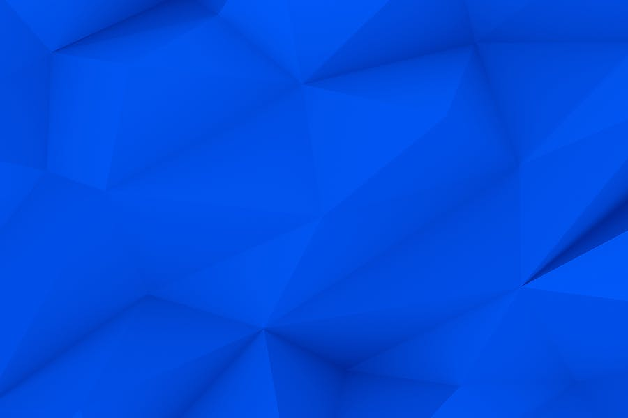 Blue Polygon Backgrounds - 1