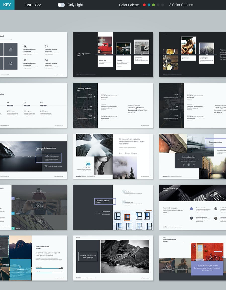 Martin Keynote Business Template - 2