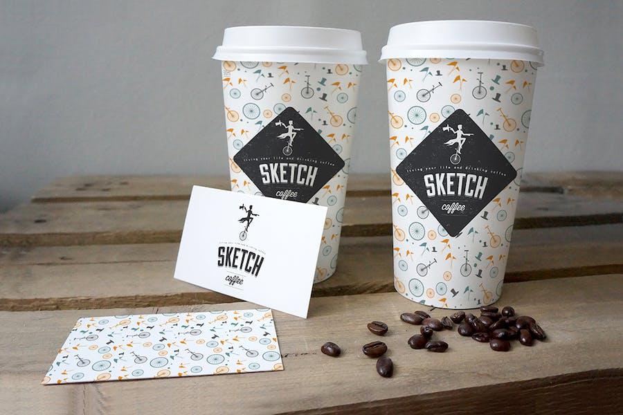 Coffee Cup Mockup - 3