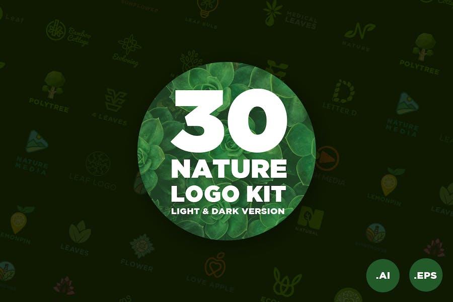 30 Nature Logo Kit - 0