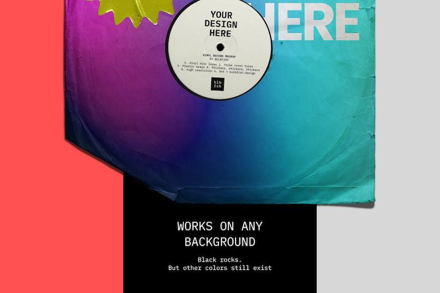 Vinyl Record Mockup - 1