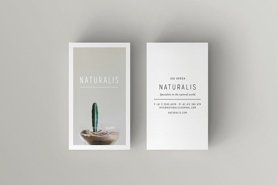 NATURALIS Business Card - 1
