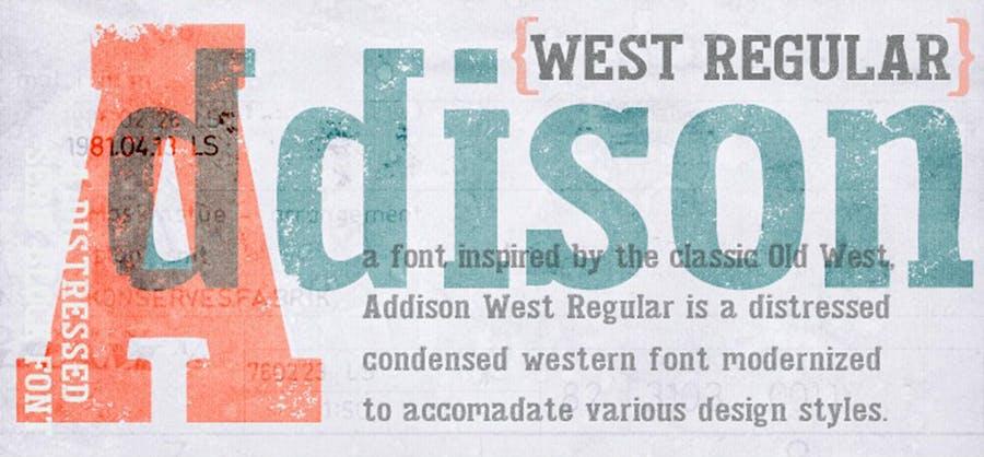 Addison Typeface - 2