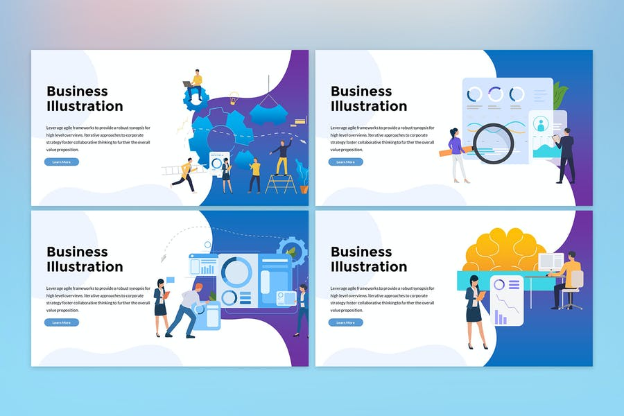 Business Illustration Presentation - 1