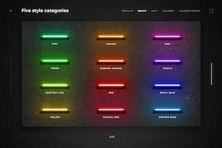 Neon Layer Styles - 1
