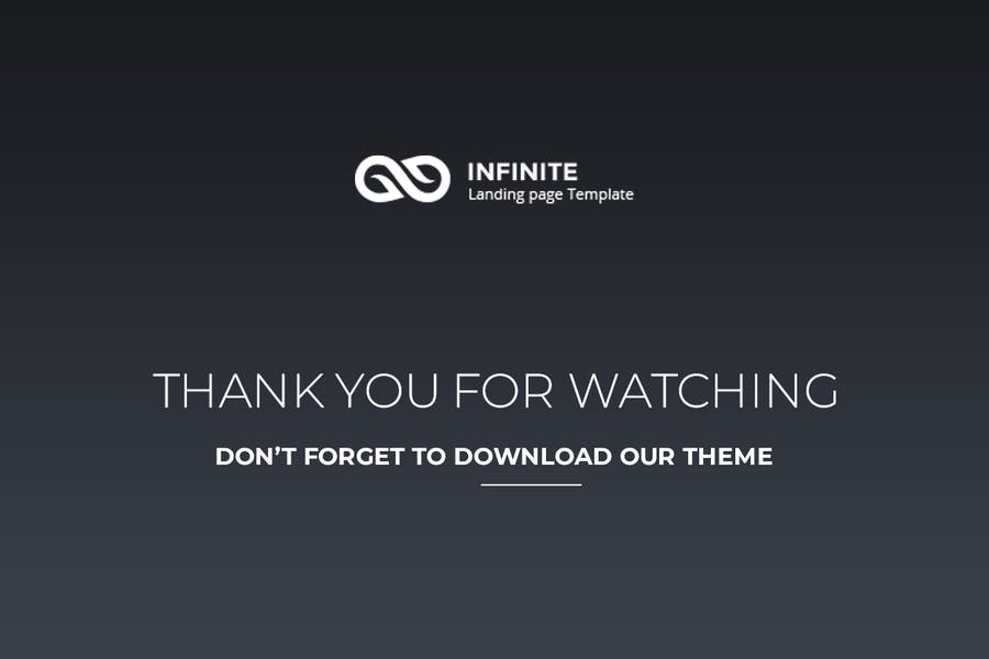 Infinite - Digital Marketing Landing Page - 2