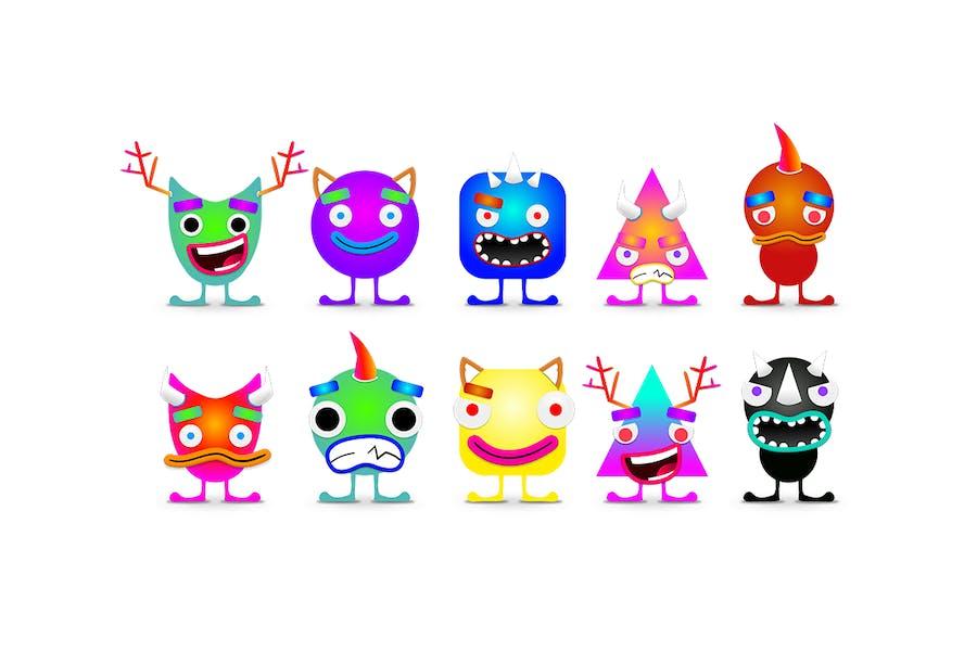 Neon Monster Creation Kit - 1