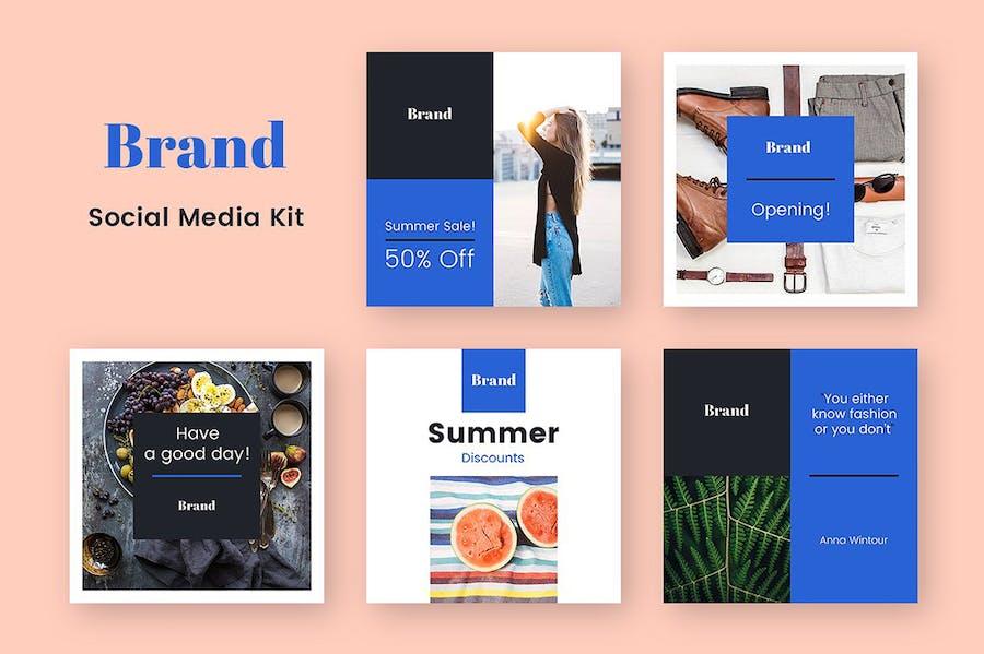Brand Social Media Kit - 1