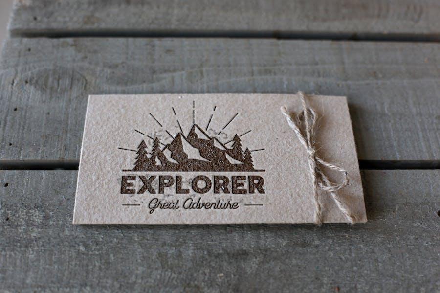 Outdoor Explorer Tee Design - 1