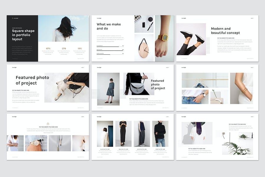 Minimal Fashion Presentation - 1
