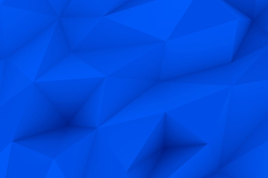 Blue Polygon Backgrounds - 0