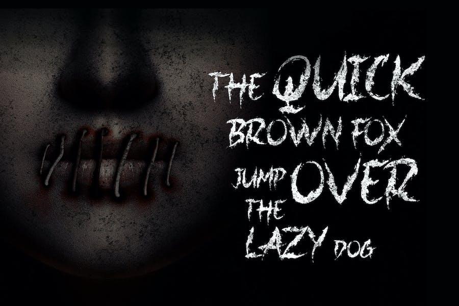 Jacmax - Horror Font - 2