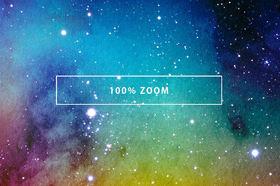 Space Watercolor Backgrounds - 0