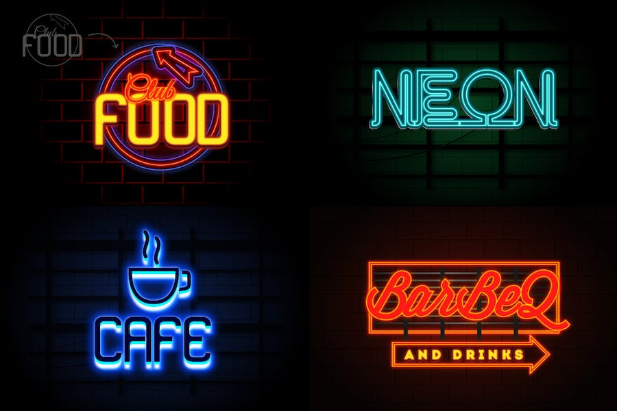 Neon Text Effects - 1