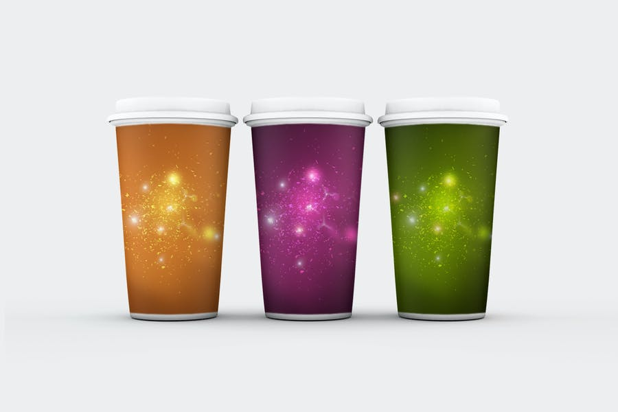 Light Particles Backgrounds - 3