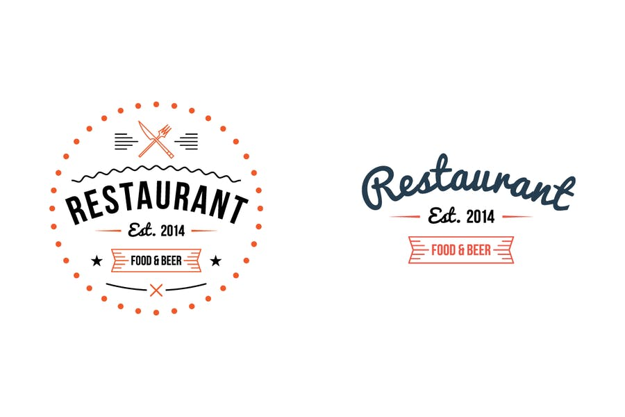 Restaurant Logo Templates - 0