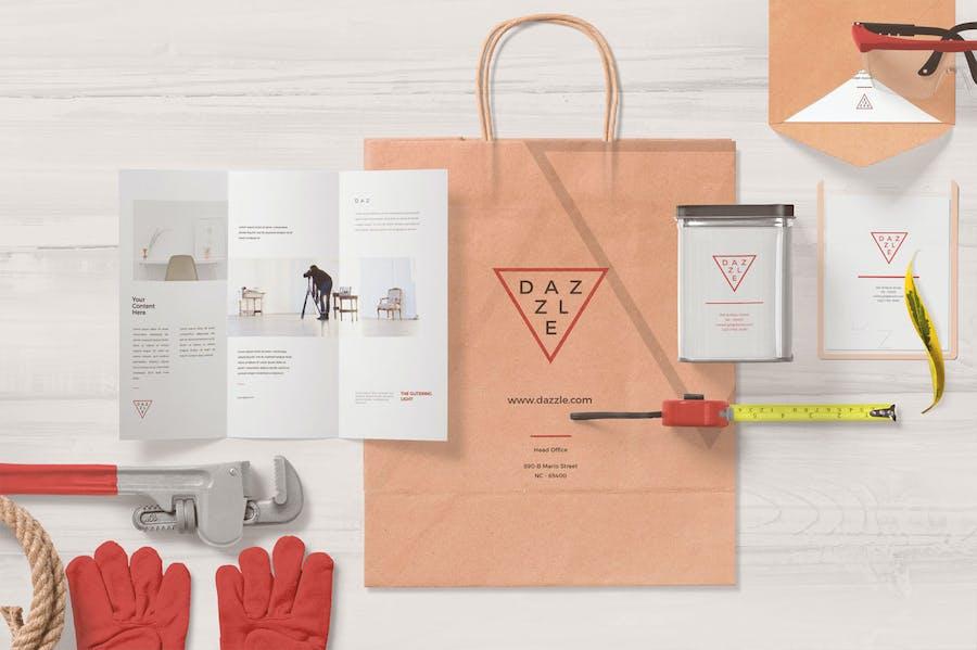 Paper Bag Mockup Scenes - 2