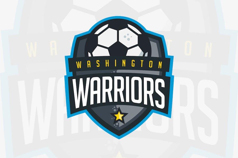 Washington Warriors - Soccer Team Logo - 0